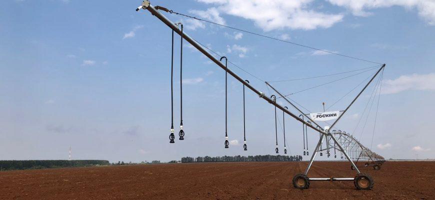 Uniparts - pivô de irrigação